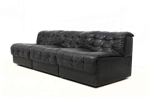 modular leather couch 1970s vintage de sede ds 11 modular leather sofa at 1stdibs