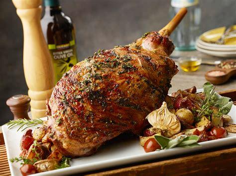 recipe roast leg of lamb whole roasted leg of lamb fairway market