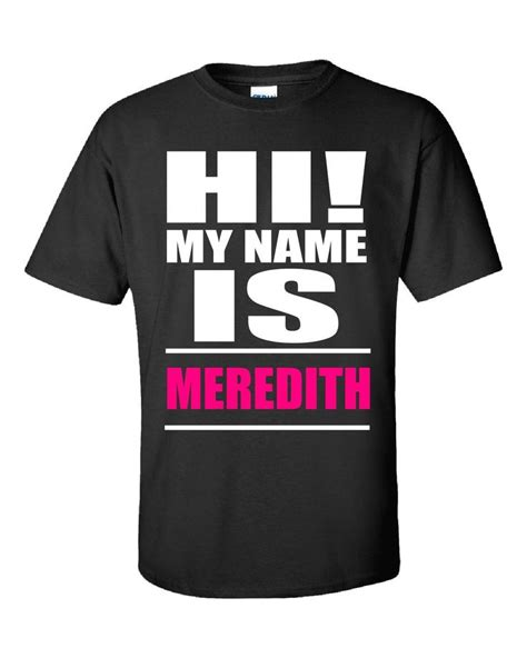 Tshirt Dandi Logo Nc 23 best images about meredith that s my name on