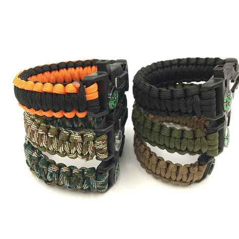 survival multitool survival paracord bracelet multi tool free shipping