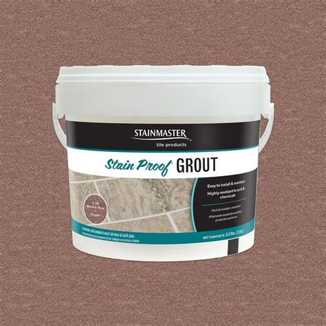 epoxy grout shop stainmaster 5 5 lb copper epoxy grout at lowes