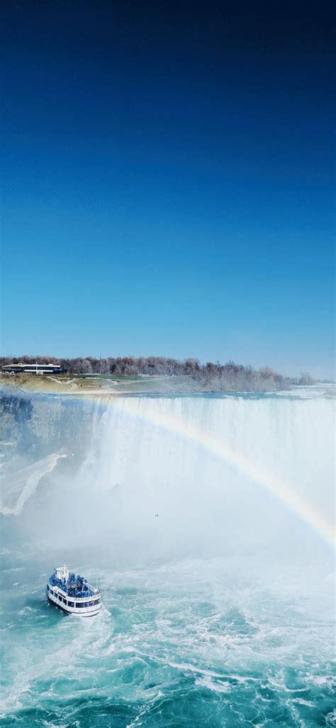niagara falls wallpaper  iphone  pro max