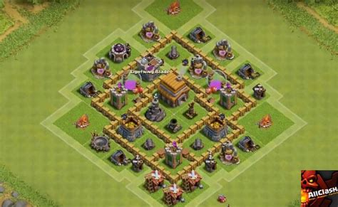 layout coc anti giant th5 war base anti giant www pixshark com images