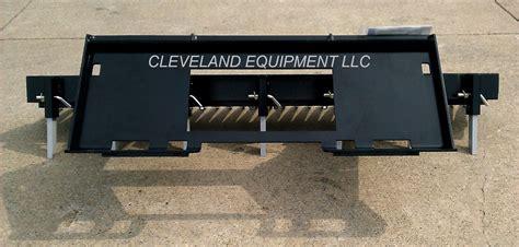 skid steer landscape rake 84 quot loegering eliminator landscape rake attachment skid