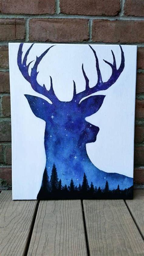groupon paint nite deer deer painting exposure deer sky painting