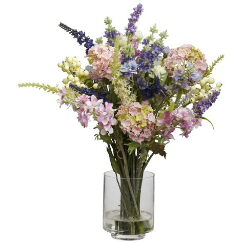 arrangement flowers beautiful flowers arrangement with blue purple green black