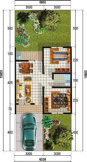 golden siger  alternatif denah rumah sederhana