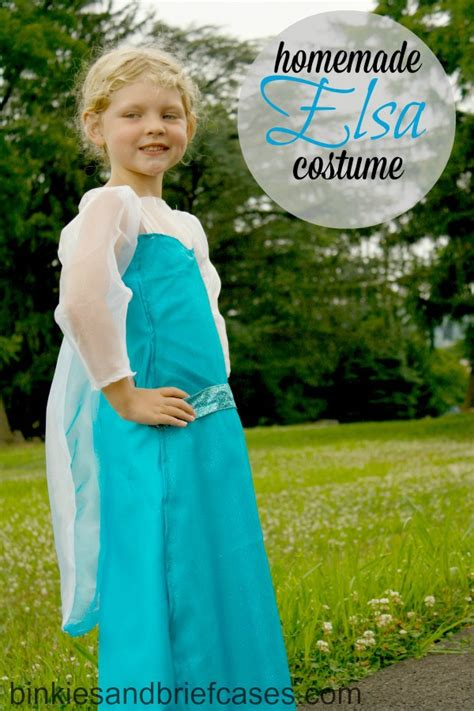 Elsa Handmade Costume - elsa costume from binkies and briefcases disney