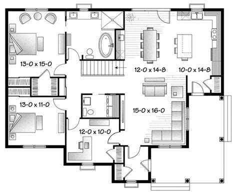 cute cottage floor plans cute cape cottage safccw2708 cape cod house plan from