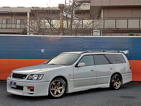 nissan stagea featured 1997 nissan stagea autech 260rs at j spec imports