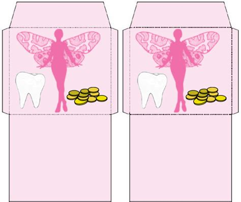 printable tooth fairy envelope two tiny tooth fairy envelopes rooftop post printables