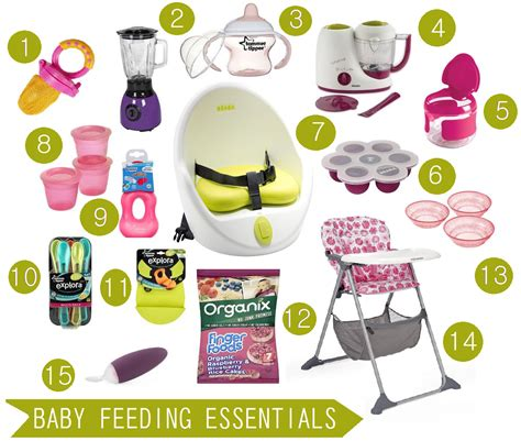 baby feeding essentials oh so amelia