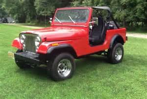 1982 Jeep Cj7 No Reserve 1982 Jeep Cj7 Laredo 5 Speed Bring A Trailer