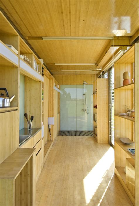 Interior Of Shipping Container Homes Mobile Homes A Transforming Shipping Container House