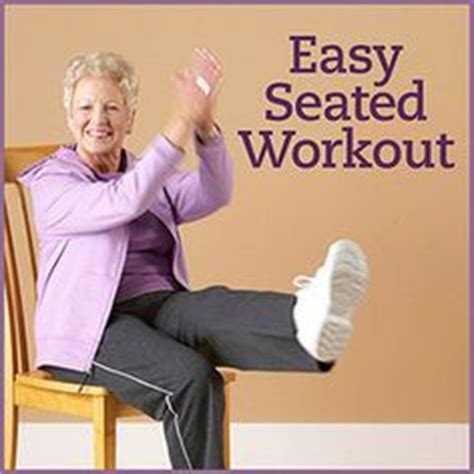 Armchair Exercises For The Elderly Dvd by 1000 Images About Senior Exercise On