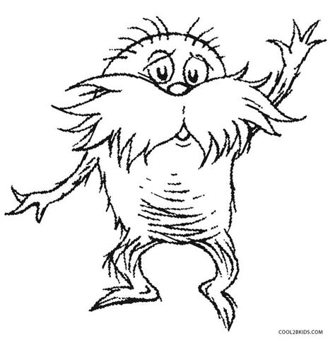 dr seuss truffula tree coloring pages coloring pages