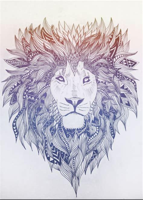 lion pattern tumblr sketch lion megastar media loves this designer megastar