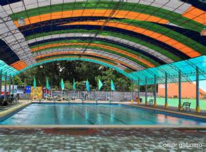 Swimming Pool With Canopy by Pool Canopies