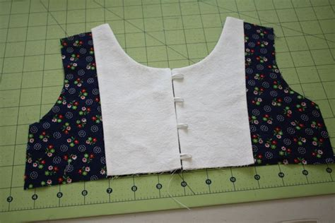 Bib Libby libby top sew along part 2 bib and buttons