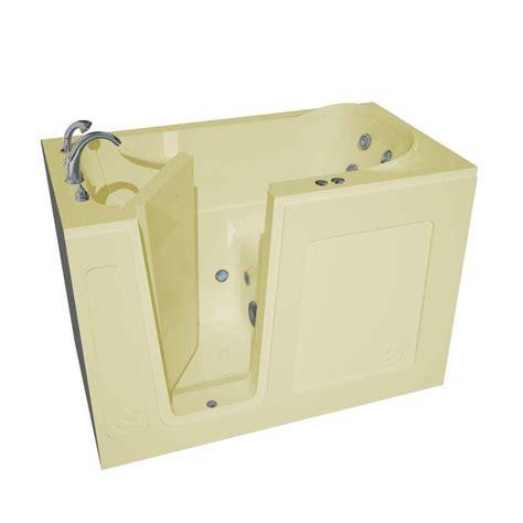 4 5 Bathtub Universal Tubs Nova Heated 4 5 Ft Walk In Whirlpool