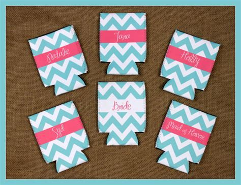 Can Koozie Customizable Bridal Party Gifts Bachelorette