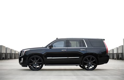 cadillac escalade black rims customized 2015 cadillac escalade exclusive motoring