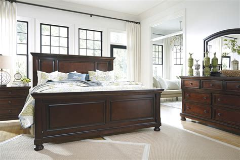 ashley porter panel bedroom set best furniture mentor oh furniture store ashley