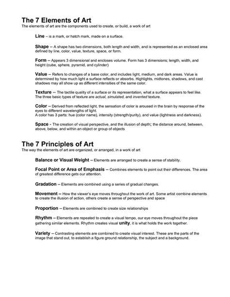 design elements test 25 best ideas about art quiz on pinterest art test