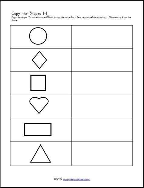Free Visual Perception Worksheets by Visual Perception Worksheets Stuff To Do For