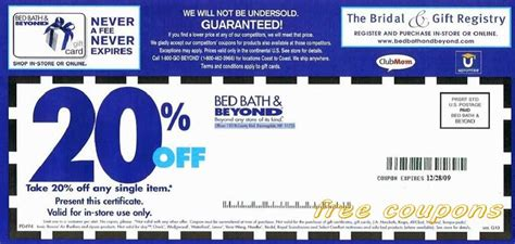 bed bath beyound coupon free printable coupons bed bath and beyond coupons