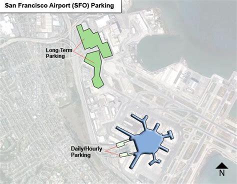 san francisco map parking san francisco airport parking sfo airport term