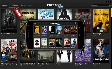 time for android popcorn time is now available on android