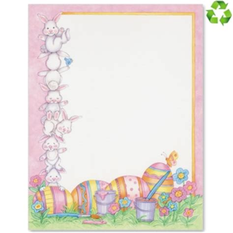 letter to easter bunny template border printable images gallery category page 11