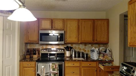 Kitchen Makeover in Gray Gel Stain   General Finishes