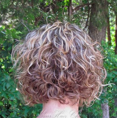 how to perm a bob hairstyle 17 best images about hair on pinterest curly perm short