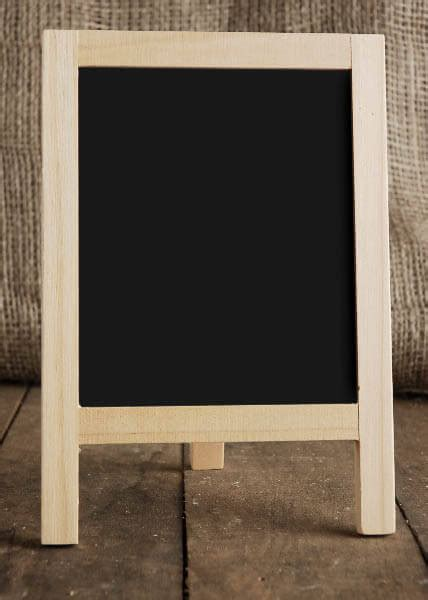 Table Top Chalkboard Easel 8.5 x 6
