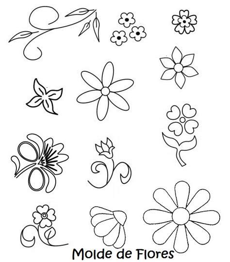 flores de hojas para imprimir moldes de flores en foami para imprimir imagui