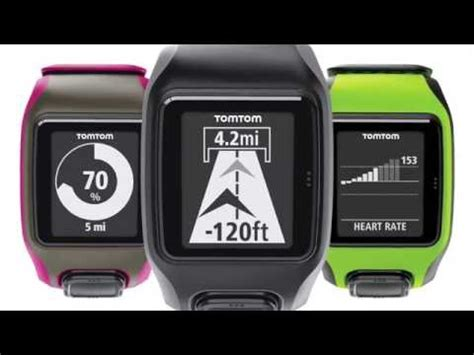 tomtom gps sport watches how to get started unboxing