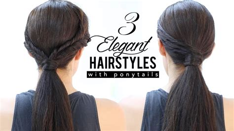 hairstyles party jordan elegant hairstyles with ponytails youtube