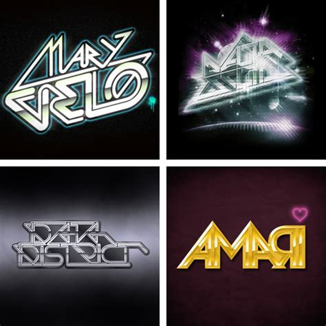 80 s design 80 s style logos by superstupidbros