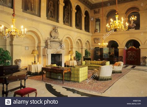 stately home interior grimsthorpe castle lincolnshire interior england uk