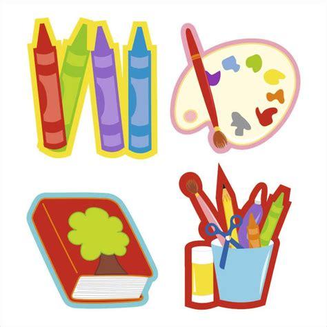 imagenes de objetos de utiles escolares figuras 218 tiles escolares cromatica
