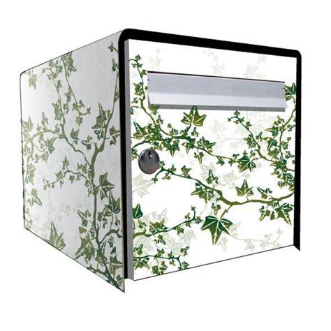 Decoration Pour Boite Aux Lettres by Stickers Bo 238 Te Aux Lettres D 233 Co Lierre Blanc D 233 Coration