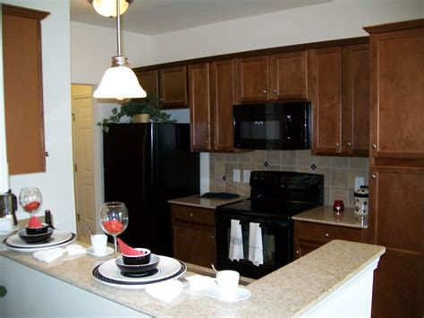 Kitchen On Yelp Granite Countertops Maple Cabinetry All Black Appliances
