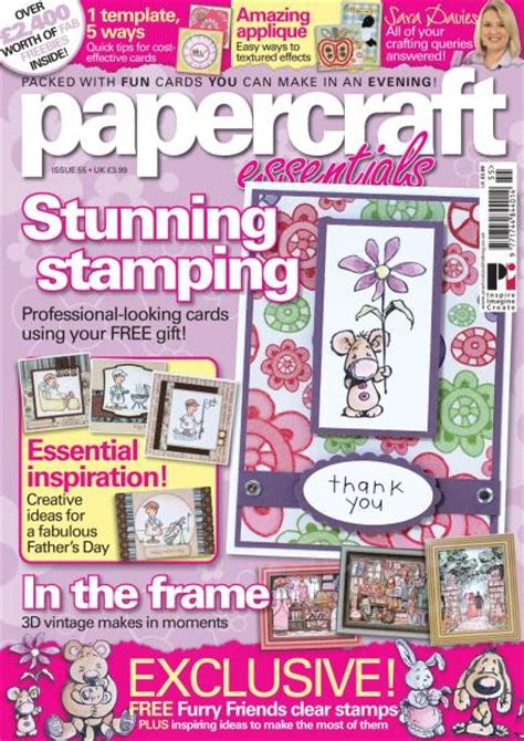 Papercraft Essentials Magazine - paper crafts subscription