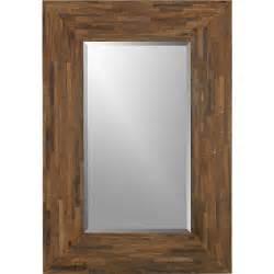 seguro rectangular wall mirror crates barrels and visual texture