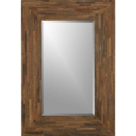seguro rectangular wall mirror crates barrels and