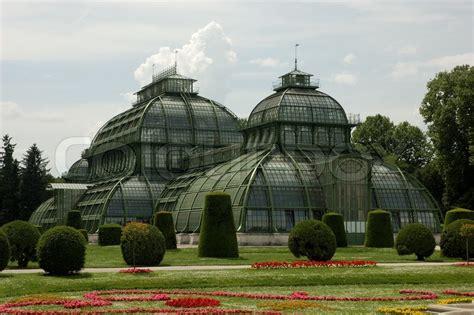 pavillon schönbrunn palm pavilion in the schonbrunn park vienna austria