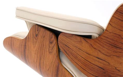 eames lounge chair cushions vintage rosewood eames lounge chair and ottoman with new