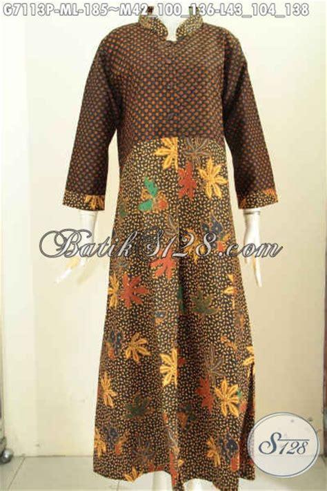 desain gamis wanita baju batik wanita berhijab gamis batik desain mewah motif
